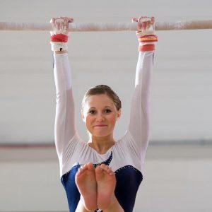 High School Gymnast with an Injury